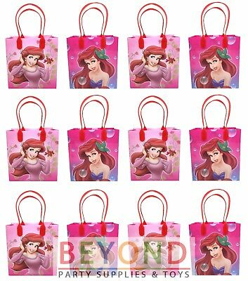 Little Mermaid Ariel Goody Bags, Disney Party Favor Goodie Bags Gift Bags