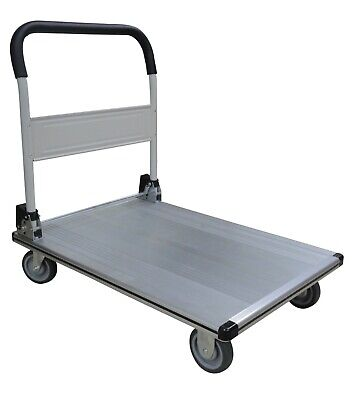 Tyke Supply Commercial Aluminum Platform Dolly Flat Bed Rolling Cart Fw-99b
