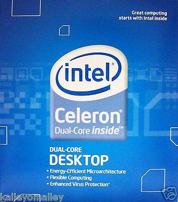Intel Celeron E1200 512k Cache 1.60ghz 800mhz Fsb Bx80557e1200 Slaqw Retail