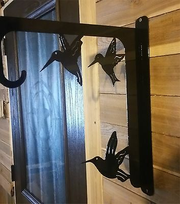 "20"" HUMMING BIRD FEEDER OR PLANT HOLDER  Hand Made in Waco Texas"