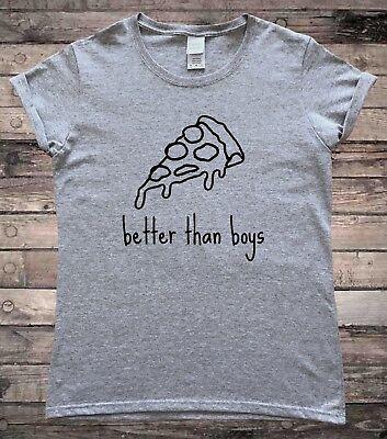 Pizza is Better than Boys Feminist