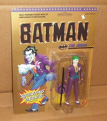 For sale 1989 Batman The Joker SQUIRTING ORCHID DC Comics Toy Biz DC Comics MIB NRFB