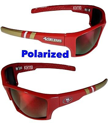 NFL San Francisco 49ers Polarized Wrap (San Francisco Sunglasses)