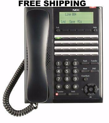 NEC-BE117452 SL2100 Digital User Programmable Function Keys Telephone (BK) ()