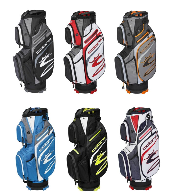 Cobra Mens Ultralight Cart Golf Bag 5.3 lbs - New 2021