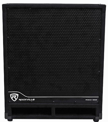 "Rockville RBG18S 18"" 2000 Watt Active Powered PA Subwoofer w/DSP+Limiter Pro/DJ"