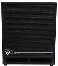 Rockville RBG18S 18 2000 Watt Active Powered PA Subwoofer w/DSP+Limiter Pro/DJ