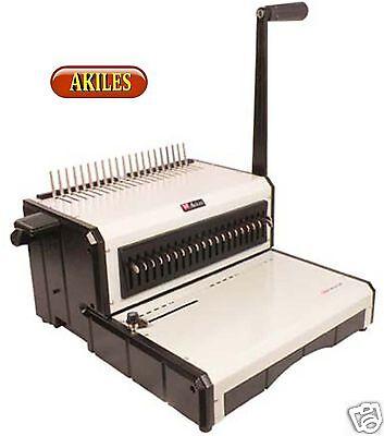 Akiles Alphabind-cm Comb Binding Machine Punch 12-inch New