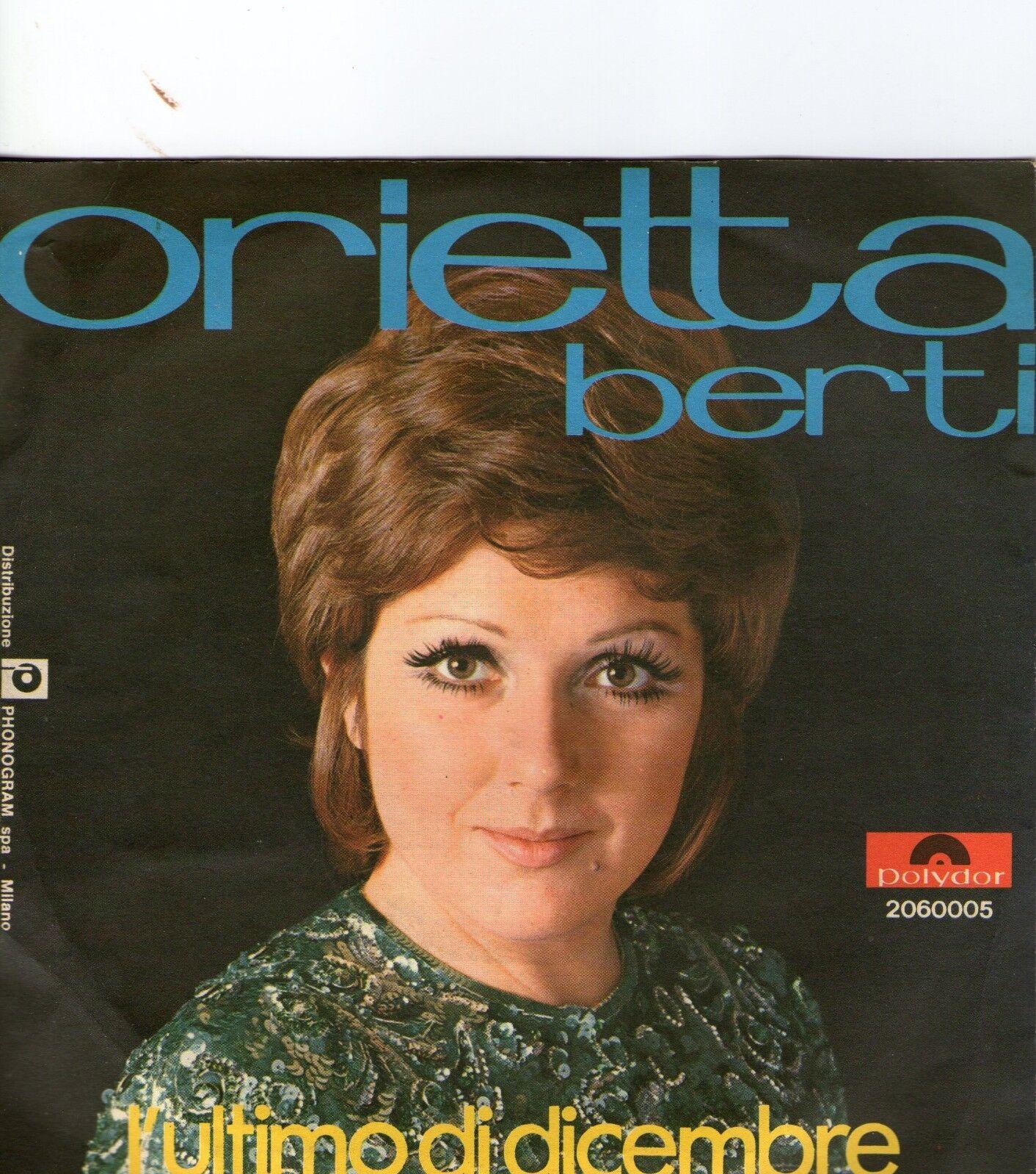 SINGLE 1970 ORIETTA BERTI - FIN CHE LA BARCA VA ,7inch - 1,00 €