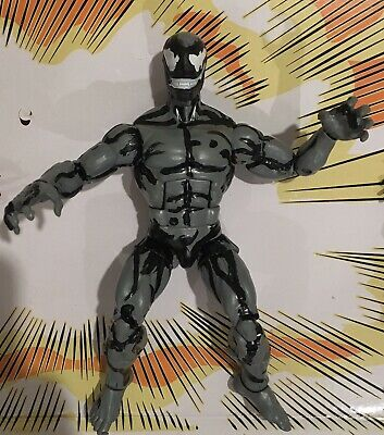 Marvel Legends Custom RIOT - Captain Spider man Carnage Venom black Scream