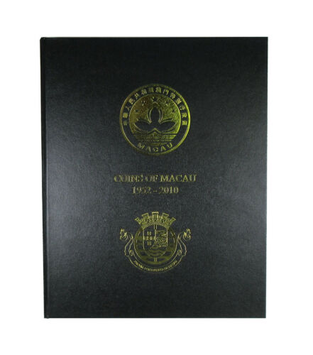 Macau 1952-2010 Coin Album 6 pages hard cover (no coins included) China 澳门 Àomén