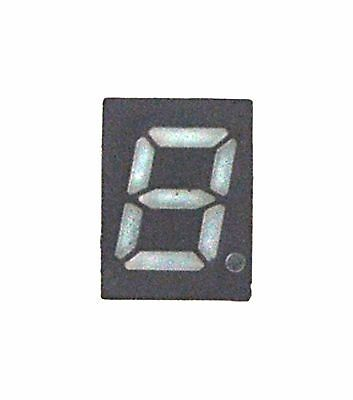 10pc 0.28 7-segment Ls0285gwy Green Led Display Gray Face Cc Lenoo Taiwan