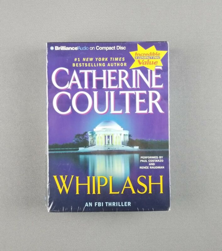 Whiplash: An FBI Thriller Series by Catherine Coulter Abridged Audiobook, 5 CDs