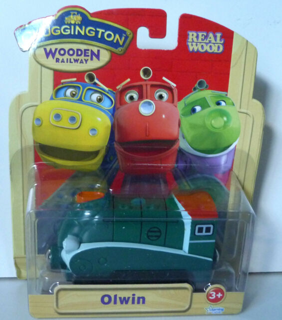 Chuggington Wooden Railway Olwin DISCOUNTED