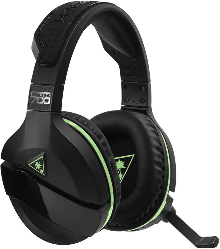 Turtle Beach Stealth 700 Wireless Surround Sound Gaming Headset for Xbox One and Windows 10 Black TBS-2770-01