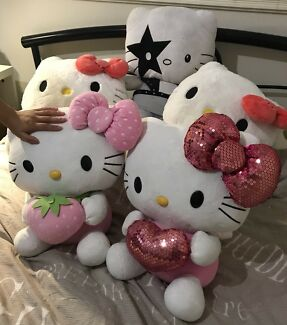 Hello Kitty large plushies