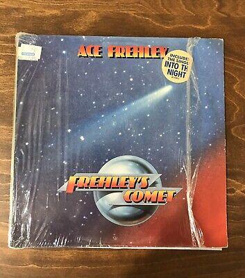 VINTAGE LP VINYL ACE FREHLEY FREHLEYS COMET 1987 Atlantic Megaforce Hype Shrink