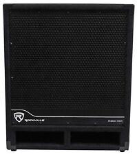 Rockville RBG15S 15 1600w Active Powered PA Subwoofer w/DSP + Limiter Pro/DJ
