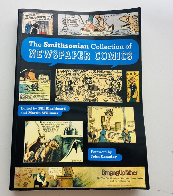 The Smithsonian Collection of Newspaper Comics - 7th printing 1988