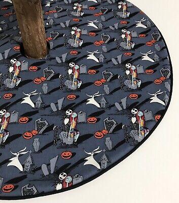 "Nightmare Before Christmas Tree Skirt - 21""- Halloween Graveyard - Custom Made ()"