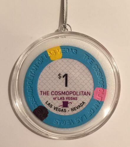 Cosmopolitan Casino Las Vegas $1 Chip Christmas Ornament Holiday Hanging Cosmo