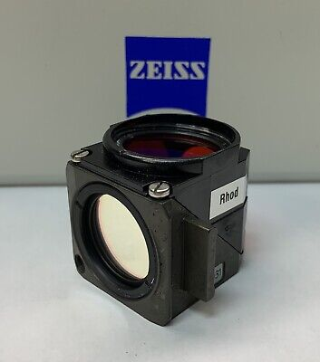 Zeiss Rhodamine Fluorescence Filter Cube For Axio Microscope 424931