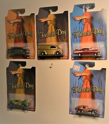 HOT WHEELS 2008 KMART ONLY FATHERS DAY SET OF 5 ~ DAIRY DELIVERY ~ RODGER DODGER