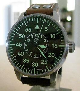 Brand New Laco Aachen Automatic German Made Men's Pilot Watch # 861690