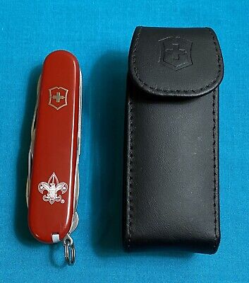 Victorinox Swiss Army Pocket Knife - Red Fieldmaster - Multi Tool BSA Logo
