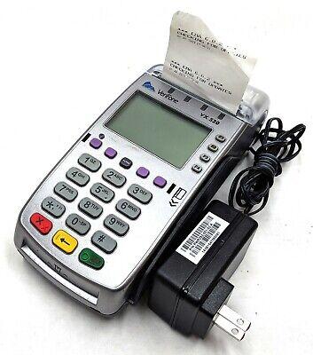 Verifone Vx520 Emv Nfc Credit Card Machine Reader Mpn M252-653-a3-naa-3 Tested
