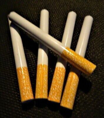 5X METAL Bat One Hitter Cigarette Style Pipe Large Dugout 3