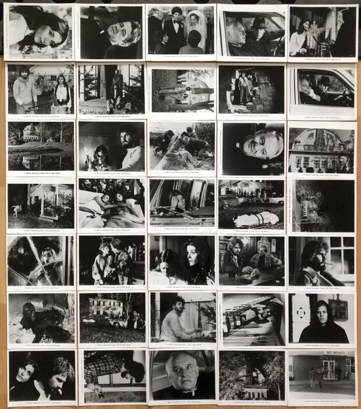 THE AMITYVILLE HORROR 1979 ORIGINAL U.S. SET OF 36 MOVIE STILLS NEAR MINT