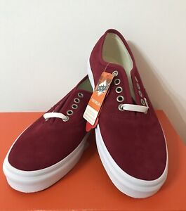 e6a5b372dd Brand new red vans shoes US10