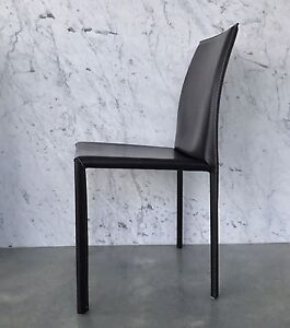 Brown Leather Dining Chairs Mosman Mosman Area Preview
