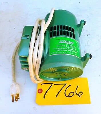 Speedaire 115 Hp Diaphragm Vacum Pump 4z792 Air Tool 115 Volt Free Shipping
