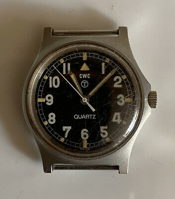 CWC G10 British Military Issued Fat Boy Watch 1980 - Spares, Repair, Untested