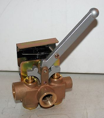 3 Way Manual Airwater Valve Smc In248br