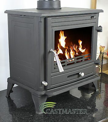 CONTEMPORARY STYLE WINCHESTER WOOD LOG BURNING  MULTIFUEL CAST IRON STOVE 7 kw
