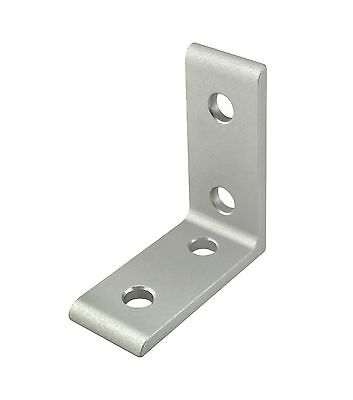 8020 Inc T-slot Aluminum 4 Hole Tall Inside Bracket 25 Series 25-4115 N