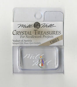 Mill Hill Crystal Treasures - Very Small Teardrop Crystal AB #13051
