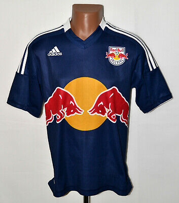 RED BULL SALZBURG AUSTRIA 2013/2014 AWAY FOOTBALL SHIRT ADIDAS SIZE M ADULT image