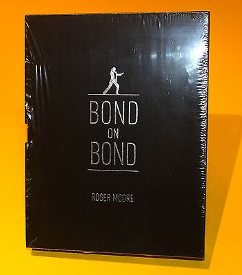 Bond On Bond Signed By Roger Moore George Lazenby Britt Ekland Luciana Paluzzi