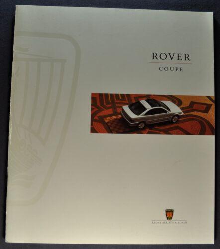 1995 Rover Coupe 28pg Catalog Sales Brochure Excellent Original 95