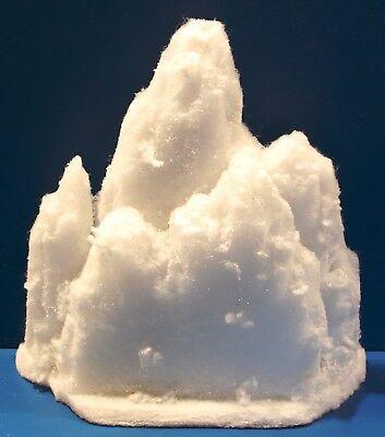 LED-Schneeberg (Typ1) - beleuchtet, 3 Volt - Batteriebetrieb, Schaufensterdeko,