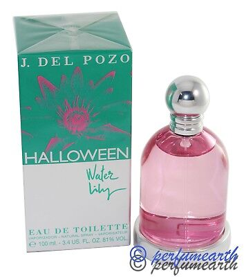 Halloween Water Lily By J. Del Pozo 3.3/3.4oz. Edt Spray For Women New In Box - J.del Pozo Halloween Water Lily