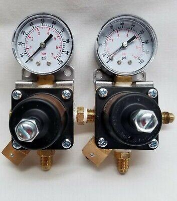 Cornelius 857a Compressed Gas Regulator 200 Psi Lot Of 2
