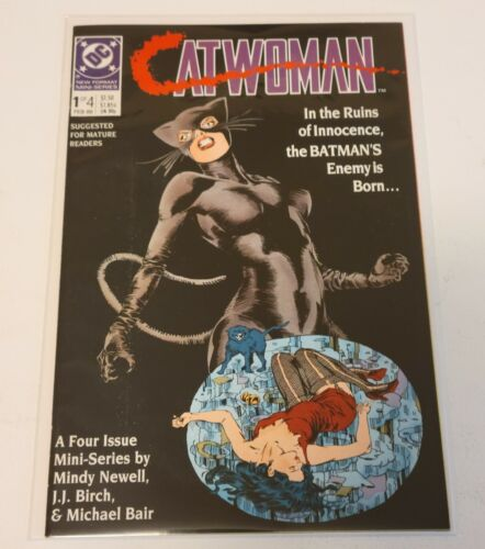 Catwoman # 1  (DC 1989)   Very Fine