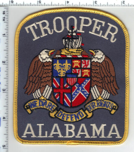 Trooper (Alabama) Shoulder Patch - Uniform Take-Off from the Early 1980