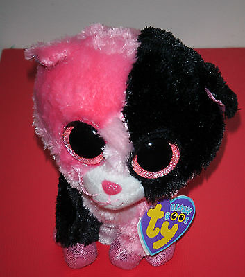 """Ty Beanie Boos ~ DAZZLE the 6"""" Cat ~Justice Store Exclusive~ MINT with MINT TAGS"""