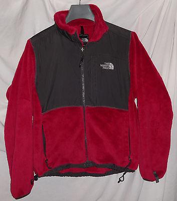 The North Face Womens Denali Fleece  Pink Graphite Grey Jacket Sz Small - Graphite Denali Fleece